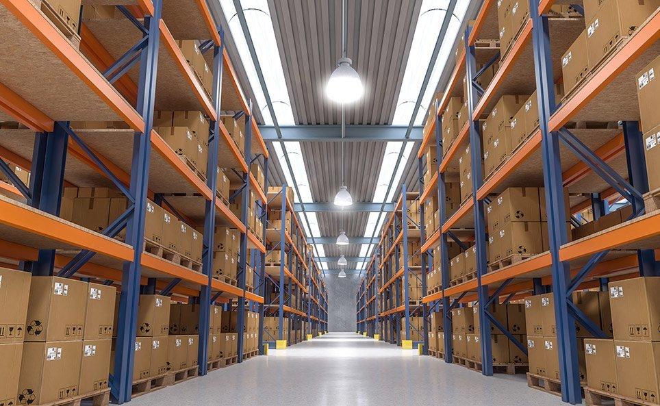 estanterías almacén logística