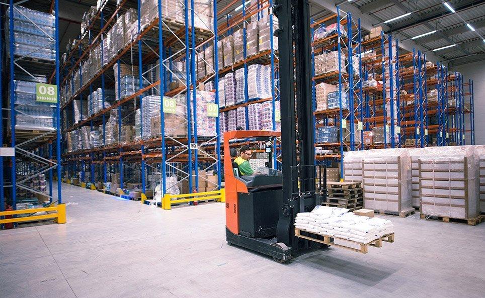 estanterías para cargas paletizadas