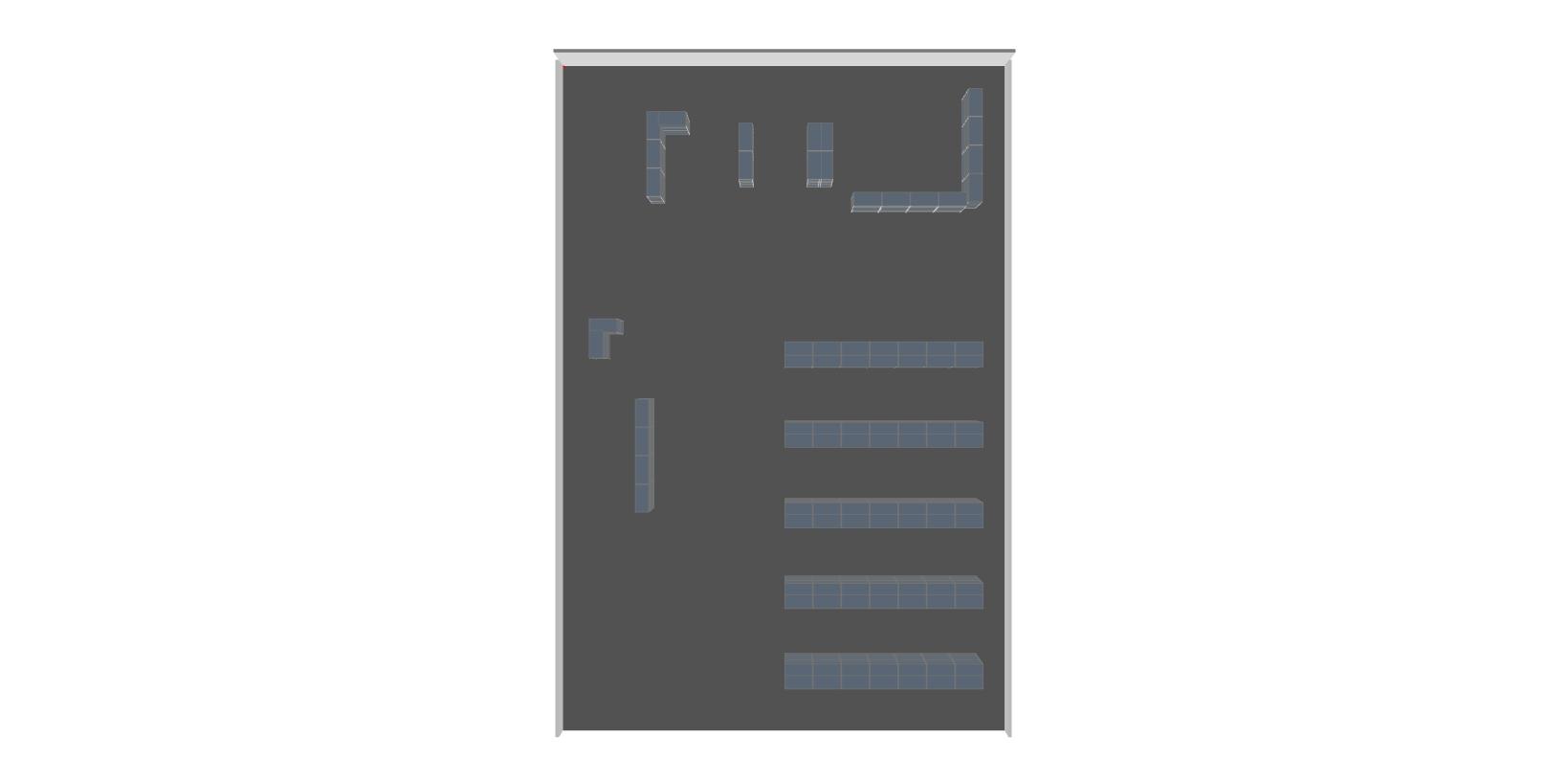 estanterias carga manual planta industrial